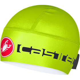 Castelli Viva Thermo Skully yellow fluo